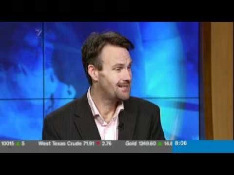 Bernard Hickey talks on TVNZ 7 News about SCF