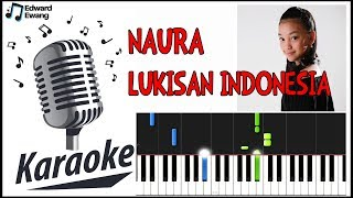 Lukisan Indonesia - Naura (karaoke) HD