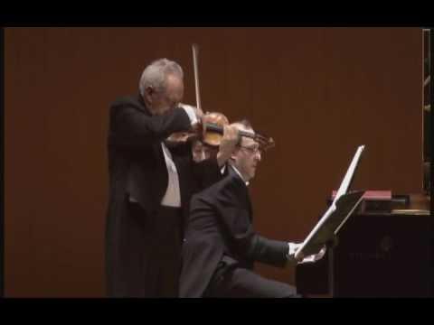 FELIX AYO violin   MARCO GRISANTI piano - C.FRANCK  Sonata in A major   2nd Movt.