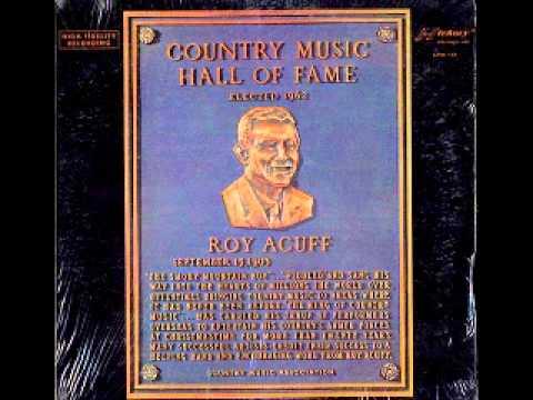 Roy Acuff Willie Roy, the crippled boy