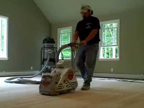 Dustless Wood Floor Sanding Dust Free Floor Refinishing Youtube