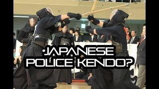 [KENDO RANT] - Japanese Police Kendo? Attacking Hiki Do?