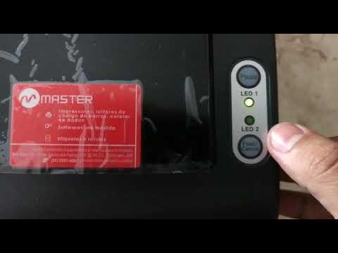 Calibrando Etiquetas Na Impressora Bixolon Tx400 Master Suprimentos