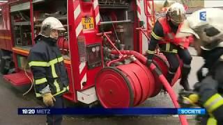 Sapeurs pompiers volontaires en Moselle