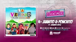 Grupo Codiciado - Juanito Y Ponchito ft. Gerardo Ortíz (Official Audio) 2020
