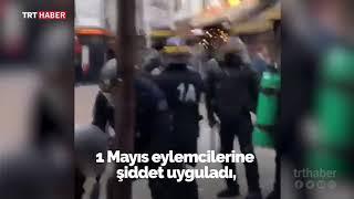Fransa Cumhurbaşkanı Macron'un danışmanından protestoculara dayak