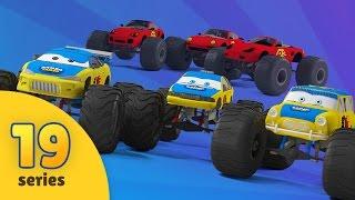 Monster Truck Tuning in Monster Truck Garage   Racing Cars Videos   Evil Monster Trucks   EPISODE 19