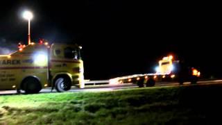 Holowanie Autostrada A2 - SZKWAREK - Wypadek Ciężarówki - Pomoc Drogowa Świecko Rzepin