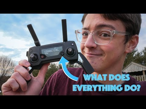 In Depth Look At How To Use a DJI Mavic Pro Controller!