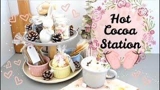 MINI DECO: HOT COCOA STATION ( ESTACIÓN DE CHOCOLATE CALIENTEN PARA TODO EL INVIERNO)  LADYANDRIU
