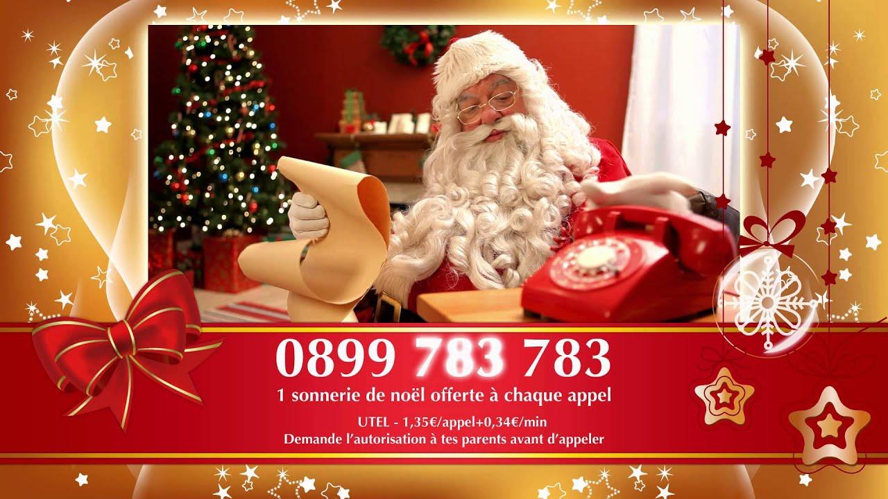 Le Vrai Numero Du Pere Noel Le numéro du vrai Père Noël !!   YouTube