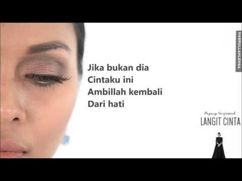 Dayang Nurfaizah - Langit Cinta (lirik)