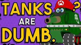 Everything Wrong with the Tanks in Super Mario Odyssey.