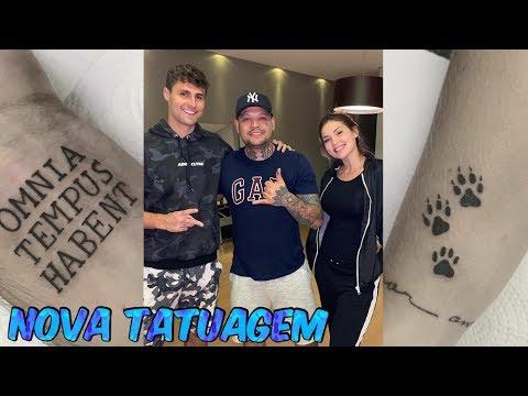 Virgínia e Rezende fizeram nova tatuagem ‹ #ADR NEWS ›