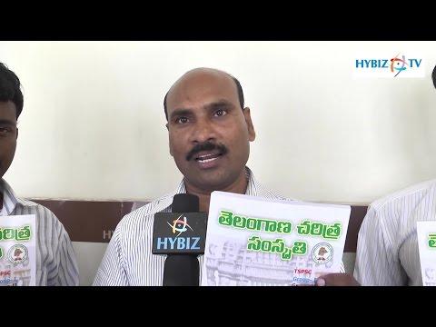 Satyanarayana I & Cad Dept - Telangana History Book - Hybiz.tv