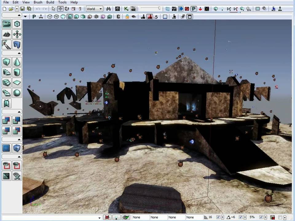 UDK Basics Getting Started in 11 Steps Part 2/3 Tutorial