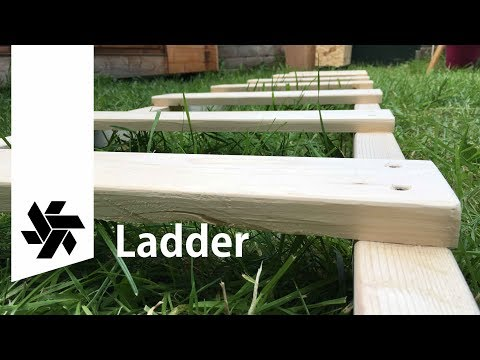 DIY Wooden Ladder // Afternoon project