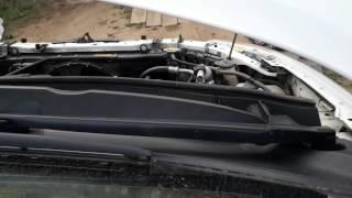 Toyota Corolla Fielder1.5 Выявляем откуда шум (добавим газку)