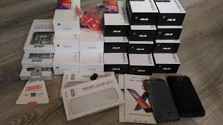 Asus ZenFone max и аксессуары к нему 15 телефонов для тестов.