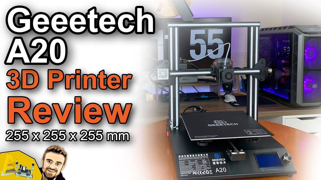 Geeetech A20 | 3d Printer Review | Unboxing | Assembly guide
