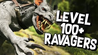 ARK Survival Evolved Ep #26 - LEVEL 100+ RAVAGER TAMING (Aberration DLC)