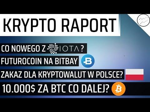 Co tam w sieci #14  - BTC w 2018r, FuturoCoin na Bitbay? Zakaz kryptowalut w Polsce? IOTA, Cardano