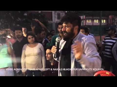 Vivek Agnihotri's fearless and honest speech at Jadavpur University