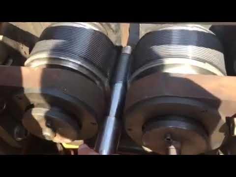 Hydraulic 150KN Thread Knurling Machine, 20T Thread Rolling Machine