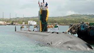 米海軍 グアムに原子力潜水艦を追加配備 3隻→4隻へ USSトピカ(SSN-754)