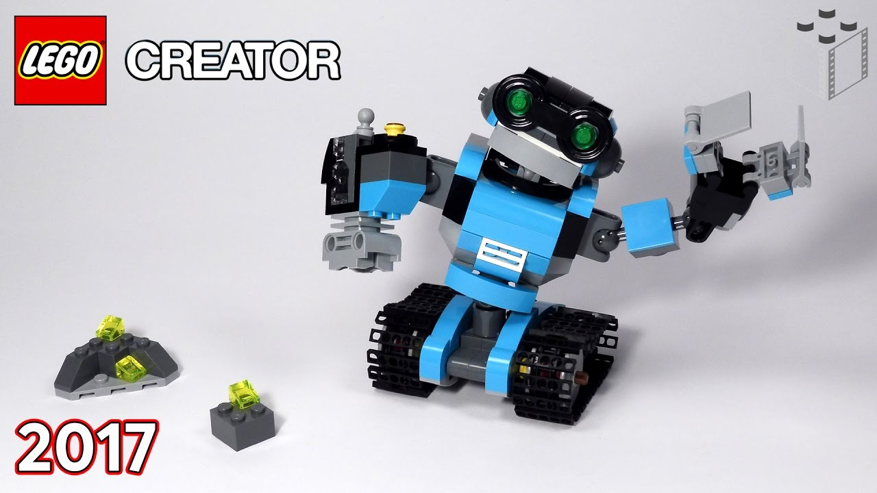 Lego 31062 Creator Robot Odkrywca Lego Speed Build Youtube