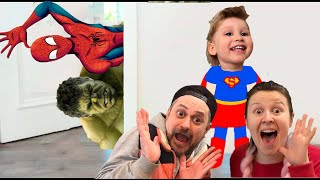 Super Eva really wants to have pets | Pretend Play