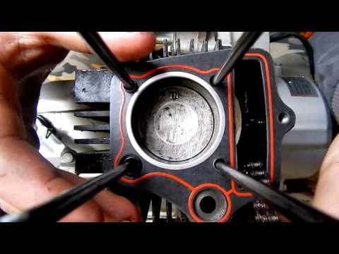 ALPHA/RAZZVALUHA #4 Замена прокладок двигателя.