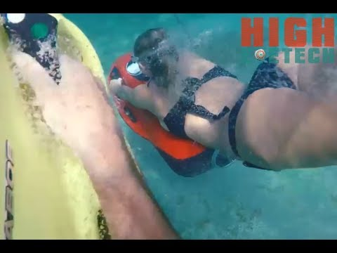 Amazing Underwater Scooter - Swim With Sharks 2017