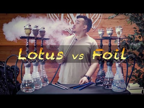 How to Make a Hookah | Foil vs Kaloud Lotus | 6 Ways Tutorial
