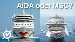 AIDA oder MSC - Der Vergleich