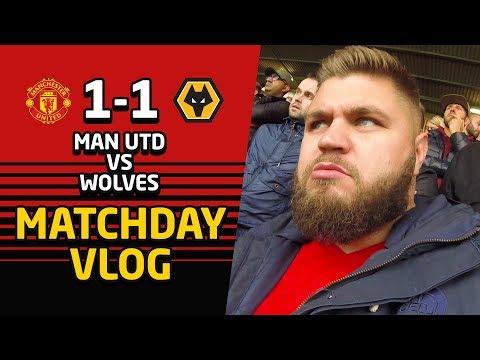 Manchester United 1 - 1 Wolves Matchday VLOG   Man Utd News