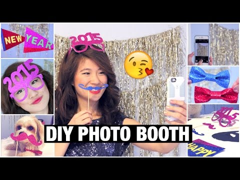 DIY Photobooth Props! (Cute Party Decorations)