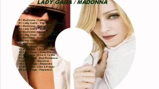 Madonna vs Lady GaGa  Step Remix