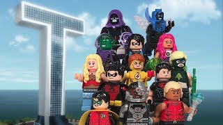 LEGO DC Superheroes: Teen Titans Minifigures Collection