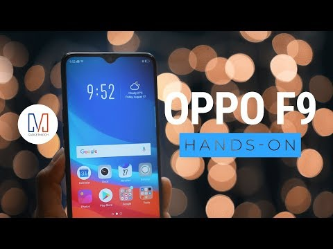 OPPO F9: All about that notch