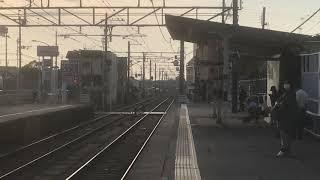 山陽6000系6008F+6009F直通特急阪神大阪梅田行き 中八木駅通過