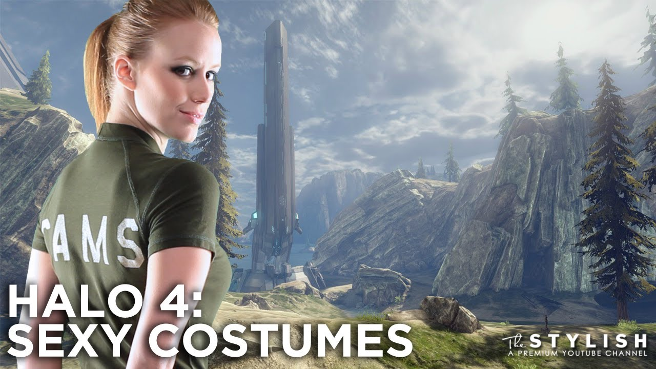 Halo 4 Sexy Costumes - Youtube-9506