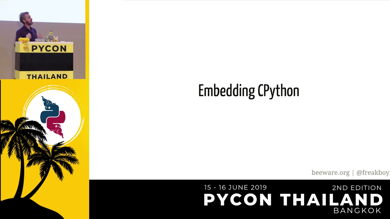 Image from Python Everywhere? - Russell Keith-magee
