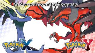 Repeat youtube video Pokémon X/Y - Vs Kalos Legendary HD (Official)
