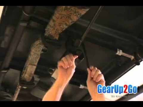 polaris ranger overhead gun rack from gearup2go com