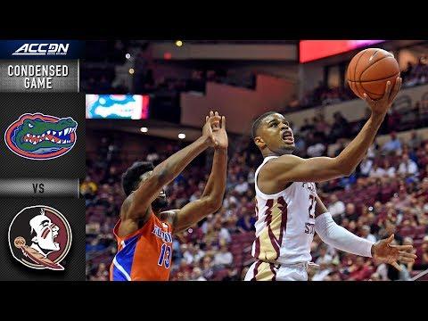 Florida vs. Florida State Condensed Game | 2018-19 ACC Basketball