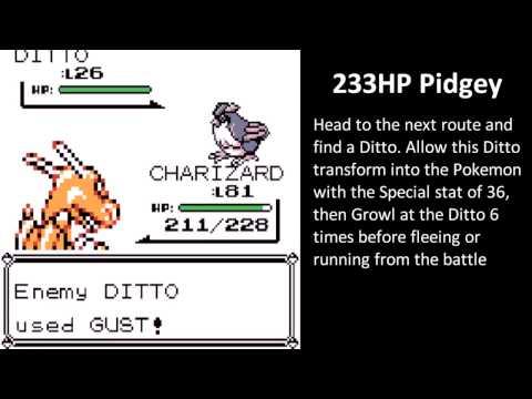 Pokemon R/B - 8F For Beginners