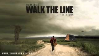Walk the Line Instrumental with HOOK (Blues Style Hick Hop, Country Rap Beat) Sinima Beats