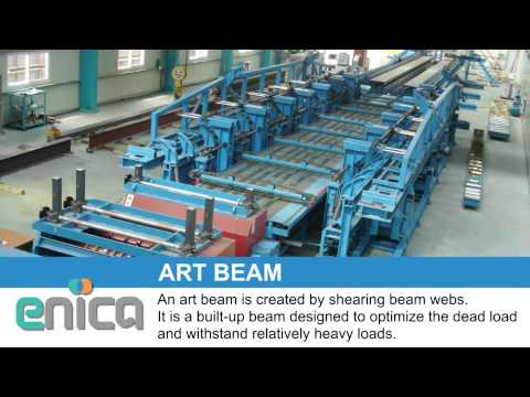 LEB, PEB, ART BEAM Building System by Enica Steel