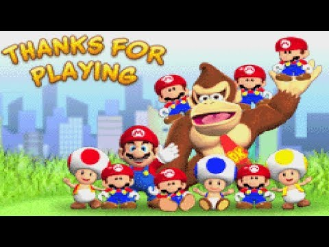 Mario Vs. Donkey Kong - World 5+ and World 6+ & Final Boss + True Ending